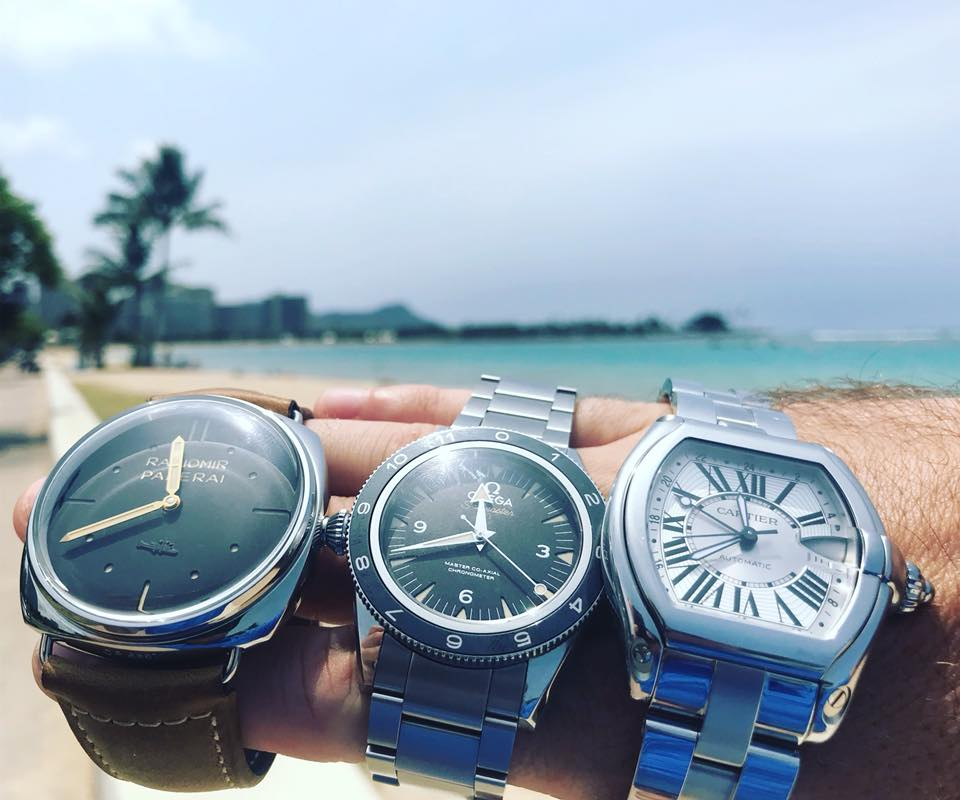 Selling watches in Hawaii